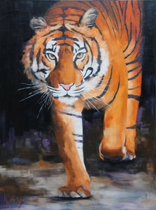 """Champion"" Tiger Print by Karen"