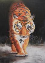 """All In"" Tiger Print by Karen"