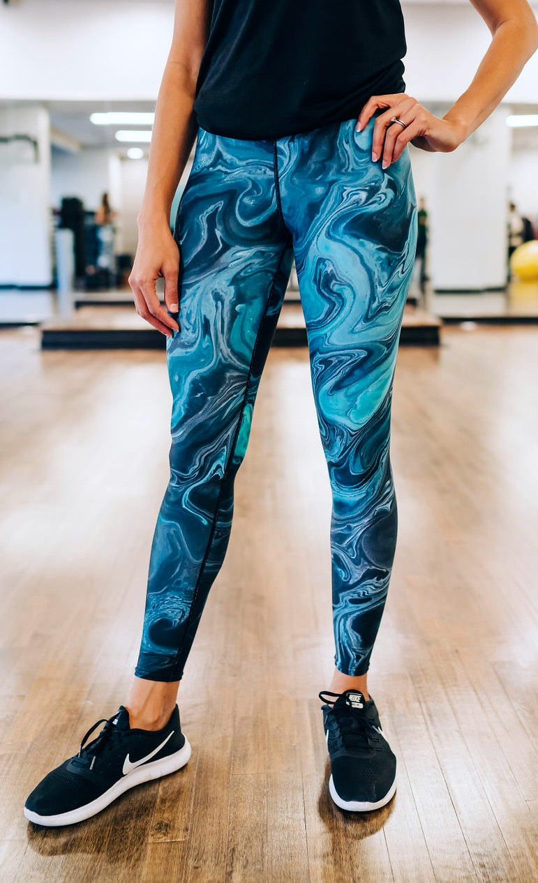 Ripple Effect Full Length Leggings