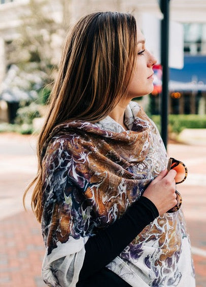 Elegant Earth Scarf