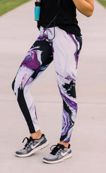 Vivid Violet Full Length Leggings