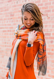 """All-In"" Tiger Scarf/Sarong"