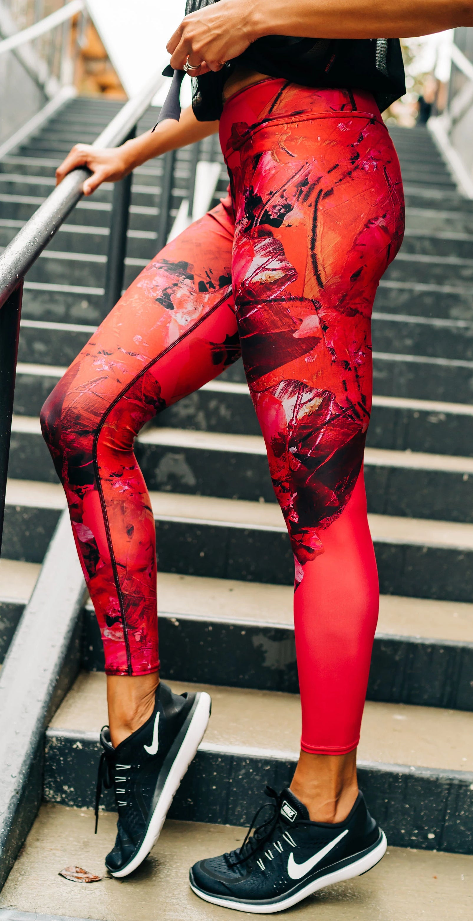 Punch Full Length Leggings