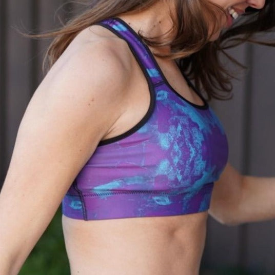 Wine time Sports bra