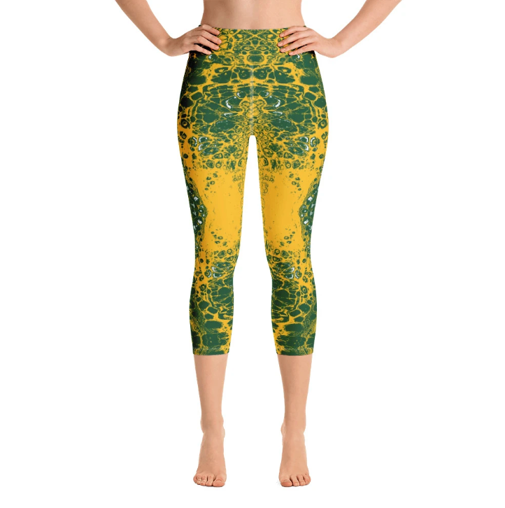 Green & Gold Lace