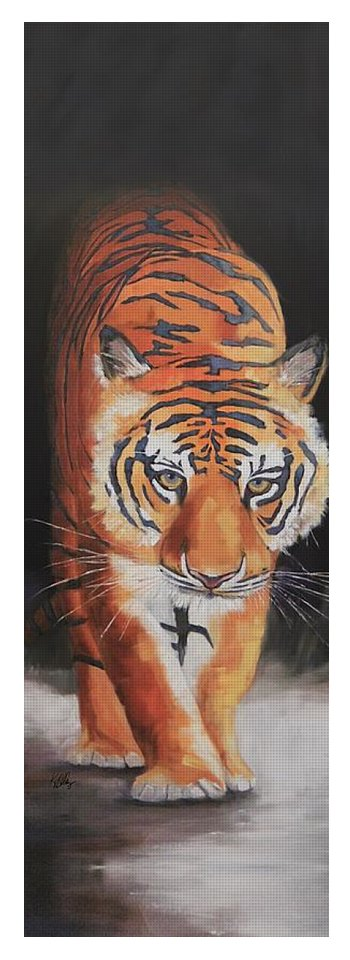 """All In"" Tiger Yoga Mat"
