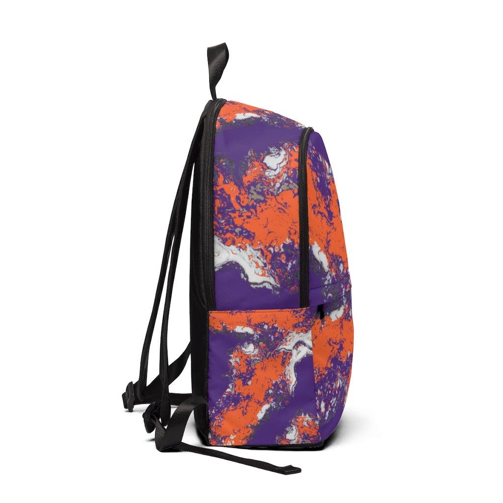 Team Colors Fabric Backpack (ANY TEAM COLORS!)