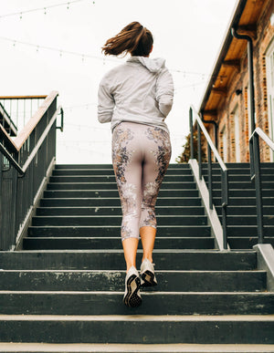 Mirror, Mirror Capri Leggings