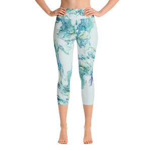 Splatter Capri Leggings