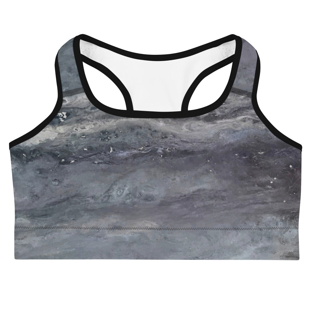 Cool Grays Sports bra