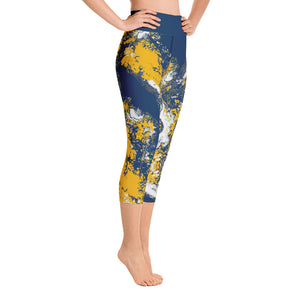 Navy & Yellow Combo #2 Partytime Capri