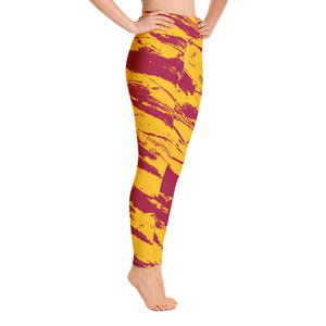 Cardinal & Gold Stripes