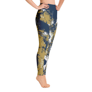Navy & Gold Partytime Full Length