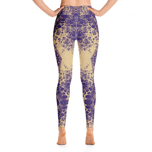 Purple & Gold Lace