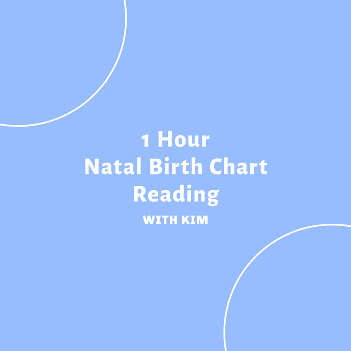 1 Hour Natal/Transit  Chart Reading with Kim
