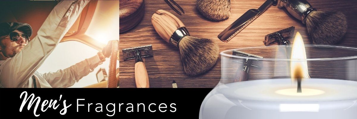 Masculine Fragrances and Scented Candles for Men