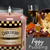 Figgy pudding christmas candles