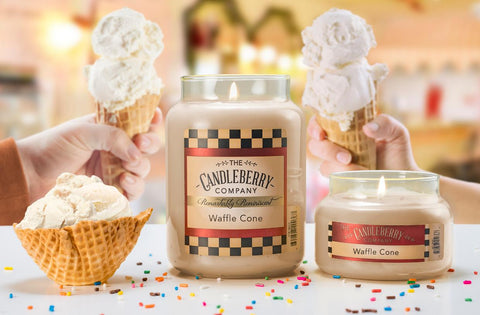 Candleberry's Best Smelling Waffle Cone Candle