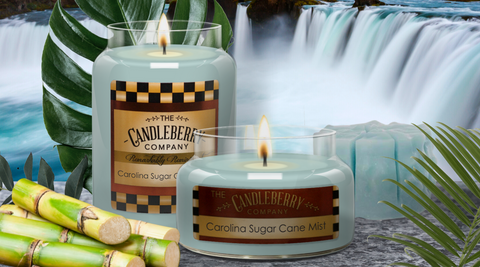 Relax with Carolina Sugar Cane Mist. The Best Candle