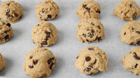 Cookie Dough topping for Ice Cream