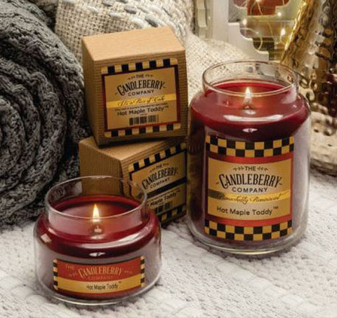 Hot Maple Toddy Candle