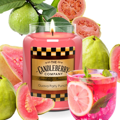 Best Spring Scented candle - NEW Guava Party Punch Candle