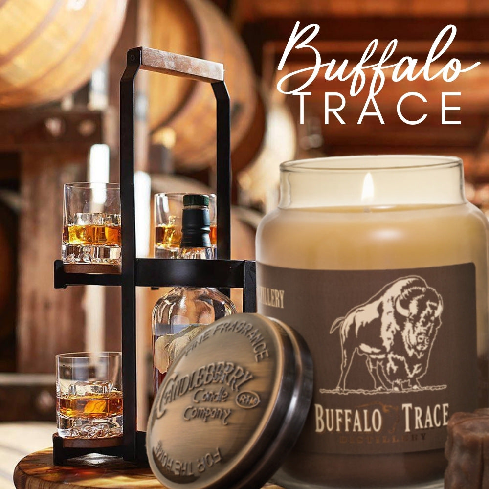 buffaalo Trace Famouse Bourbon Highly Scented Number One Selling Best Scented Kentucky Candle