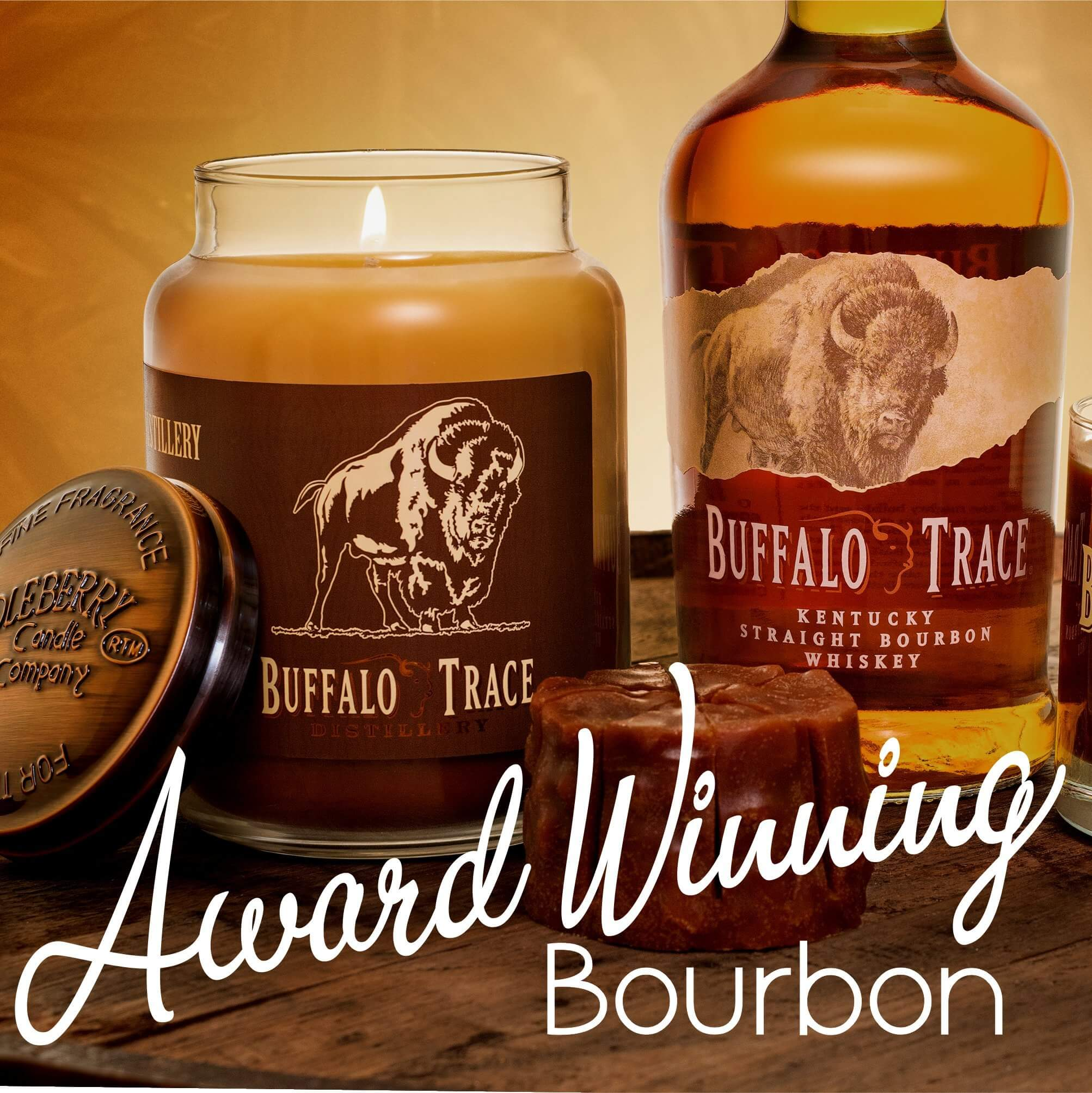 Award Winning Kentucky Bourbon Buffalo Trace Scented Candles