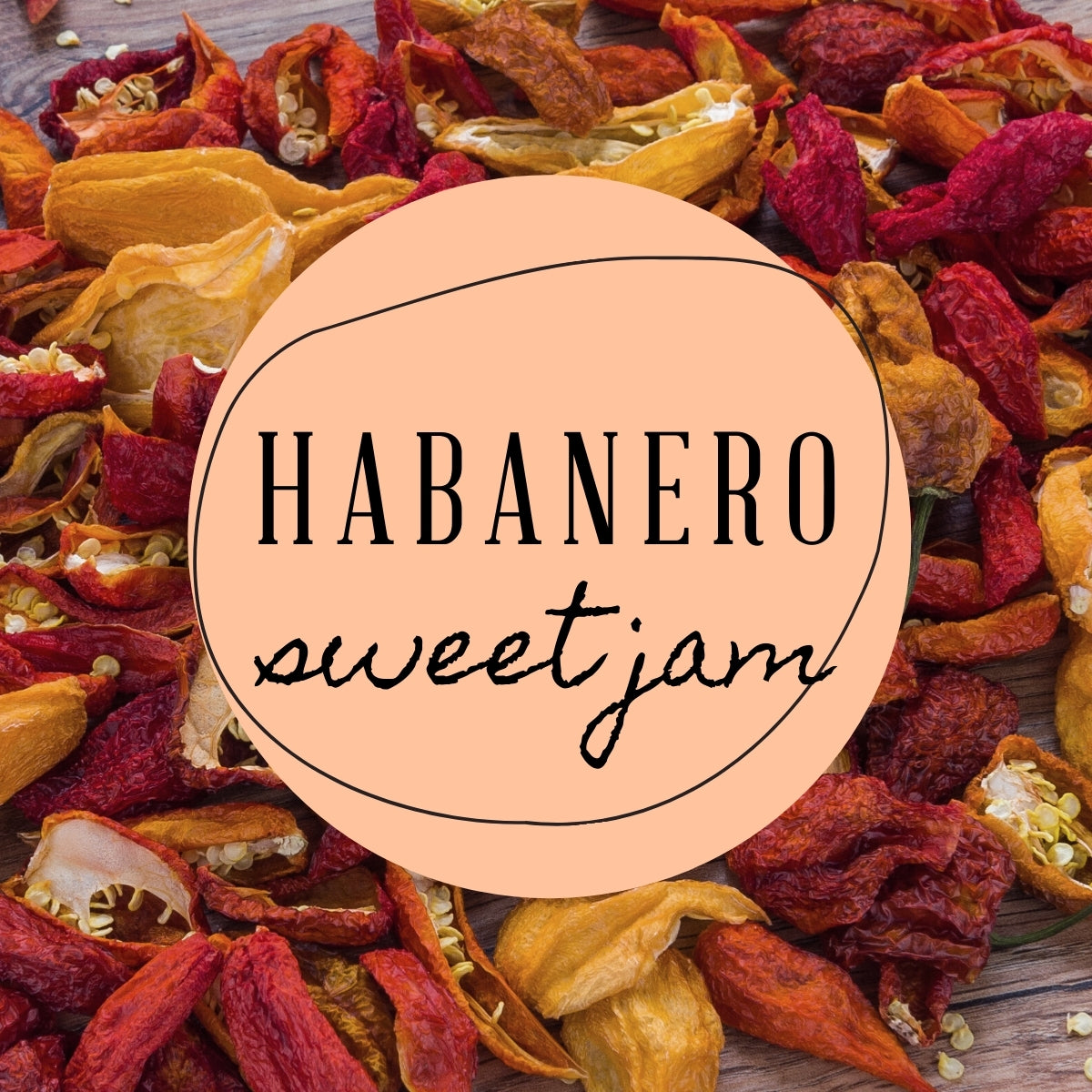 Habanero Sweet Jam Highly Scented Candle that Lasts Through to the end