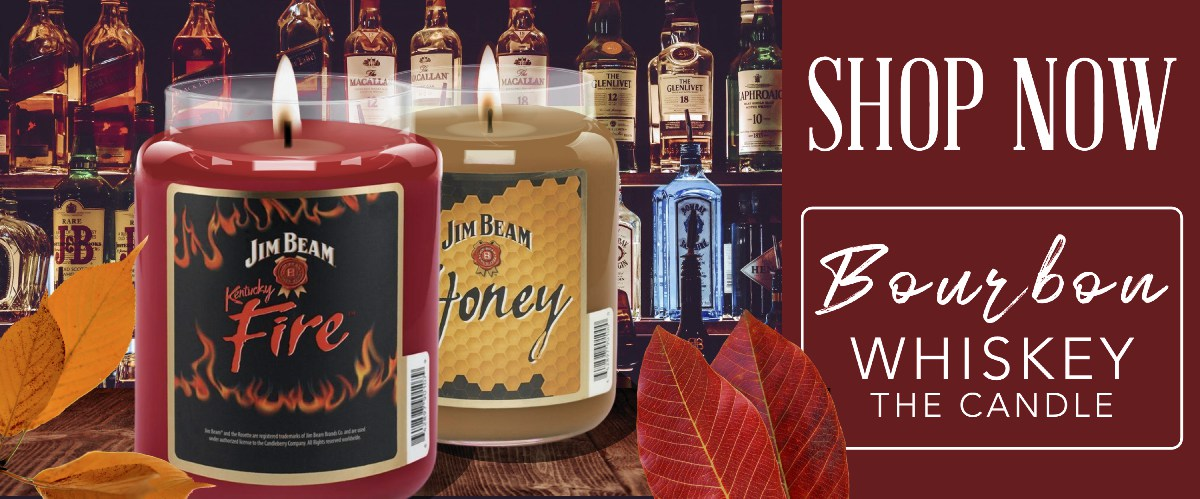 Kentucky Bourbon and Whiskey Scented Candles, the original trademark and Fall 2020 Best Sellers! Award Winner #1, #2 & # 9