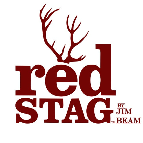 Red Stag by Jim Beam Logo