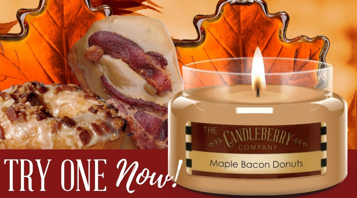 Maple Bacon Donuts Recipe Highly Scented Candles by Candleberry