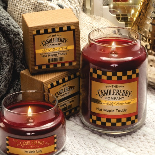 Hot Maple Toddy Candles