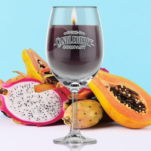 Grapes & Grains - Voodoo Juice, 10 oz Wine Glass Candle Grapes & Grains The Candleberry Co.