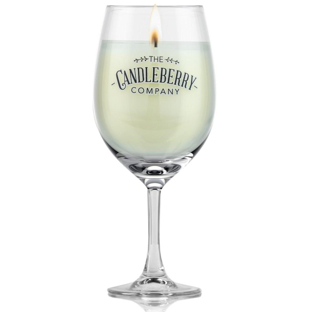 Grapes & Grains - Sangria, 10 oz Wine Glass Candle Grapes & Grains The Candleberry Co.