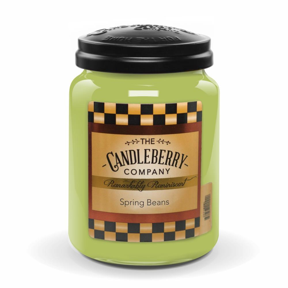 Spring Beans™, 26 oz. Jar, Scented Candle 26 oz. Large Jar Candle The Candleberry Candle Company