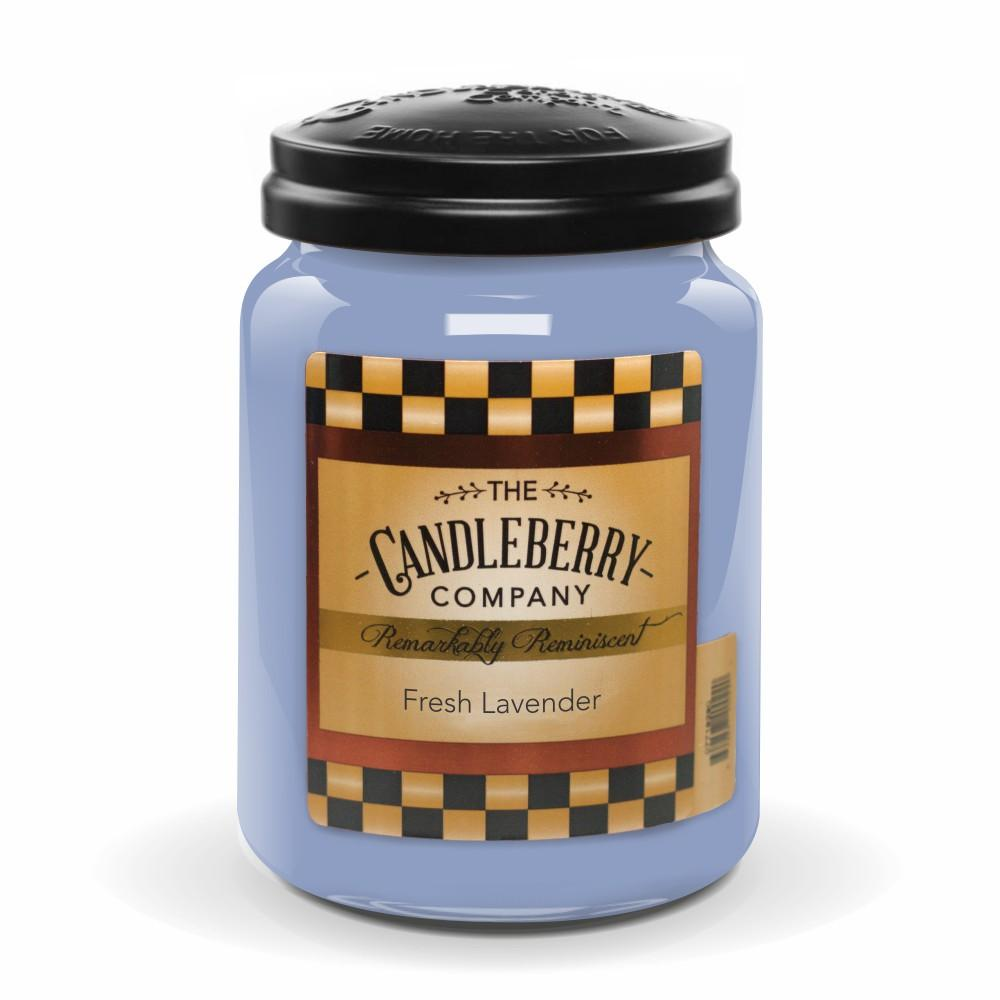 Fresh Lavender™, 26 oz. Jar, Scented Candle 26 oz. Large Jar Candle The Candleberry Candle Company