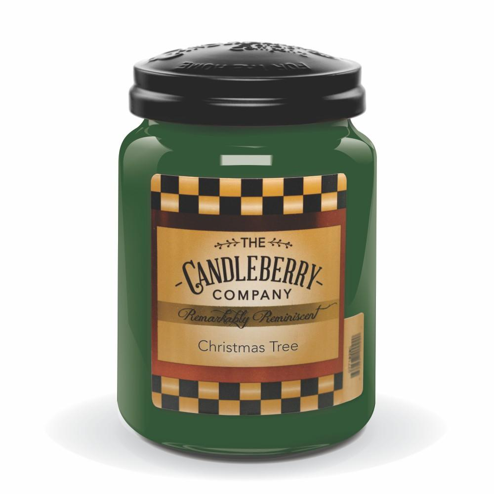 Christmas Tree™, 26 oz. Jar, Scented Candle 26 oz. Large Jar Candle The Candleberry Candle Company