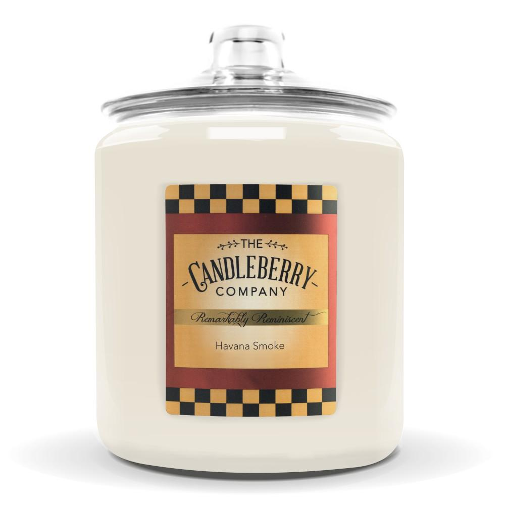 Havana Smoke™, 160 oz. Jar, Scented Candle 160 oz. Cookie Jar Candle The Candleberry Candle Company