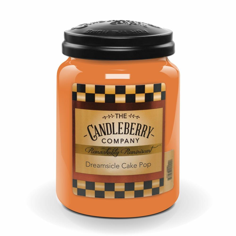 Dreamsicle Cake Pop™, 26 oz. Jar, Scented Candle 26 oz. Large Jar Candle The Candleberry Candle Company