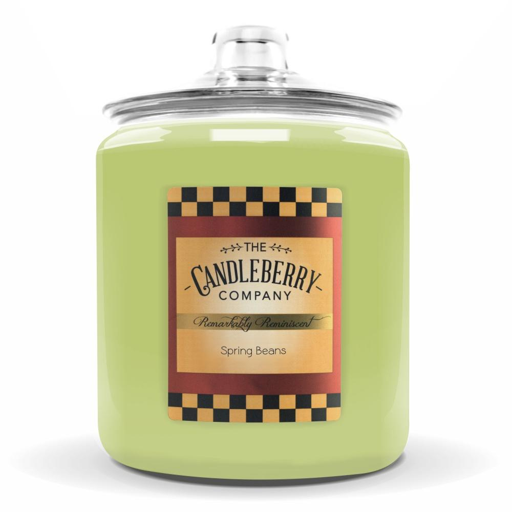 Spring Beans™, 160 oz. Jar, Scented Candle 160 oz. Cookie Jar Candle The Candleberry Candle Company