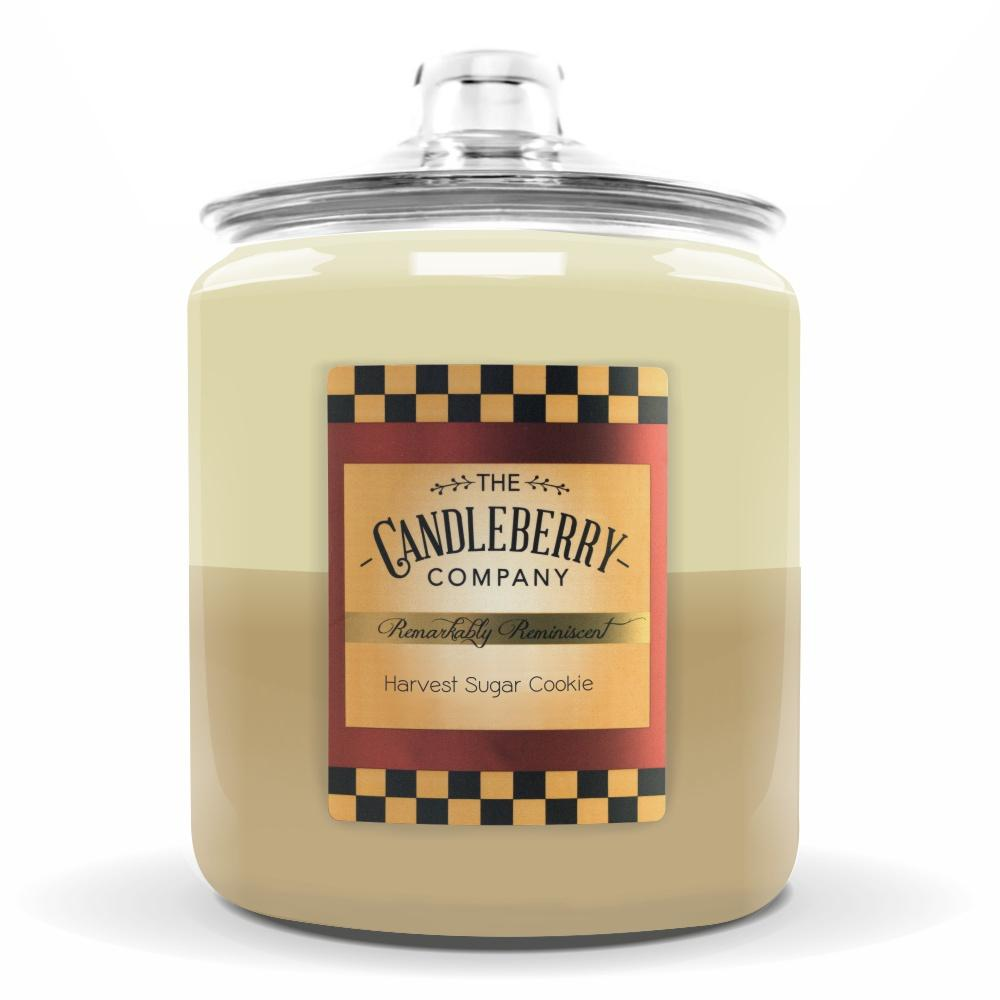 Harvest Sugar Cookie™, 160 oz. Jar, Scented Candle 160 oz. Cookie Jar Candle The Candleberry Candle Company