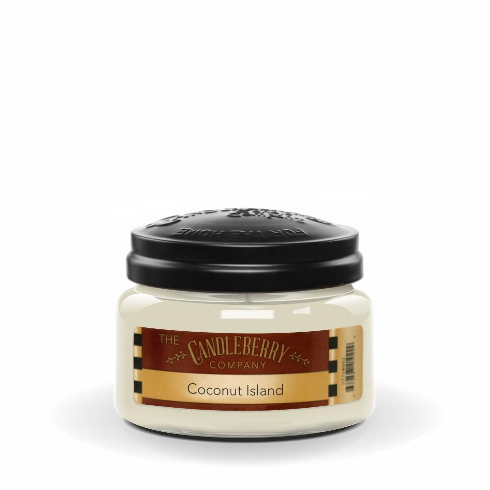 Coconut Island™, 10 oz. Jar, Scented Candle 10 oz. Small Jar Candle The Candleberry Candle Company