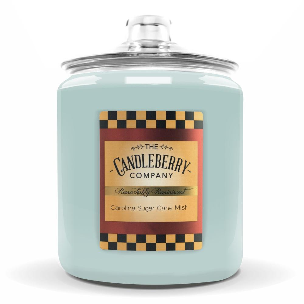 Carolina Sugar Cane Mist™, 160 oz. Jar, Scented Candle 160 oz. Cookie Jar Candle The Candleberry Candle Company