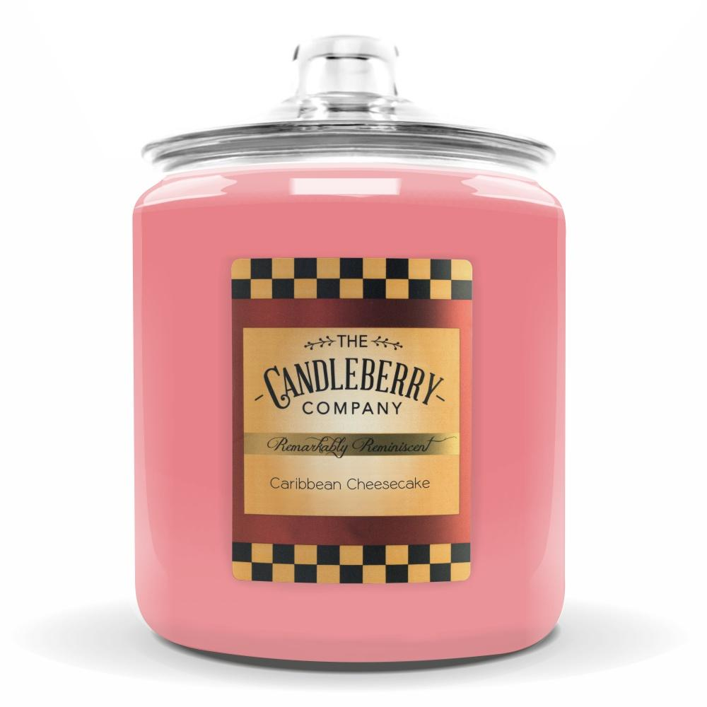 Caribbean Cheesecake™, 160 oz. Jar, Scented Candle 160 oz. Cookie Jar Candle The Candleberry Candle Company