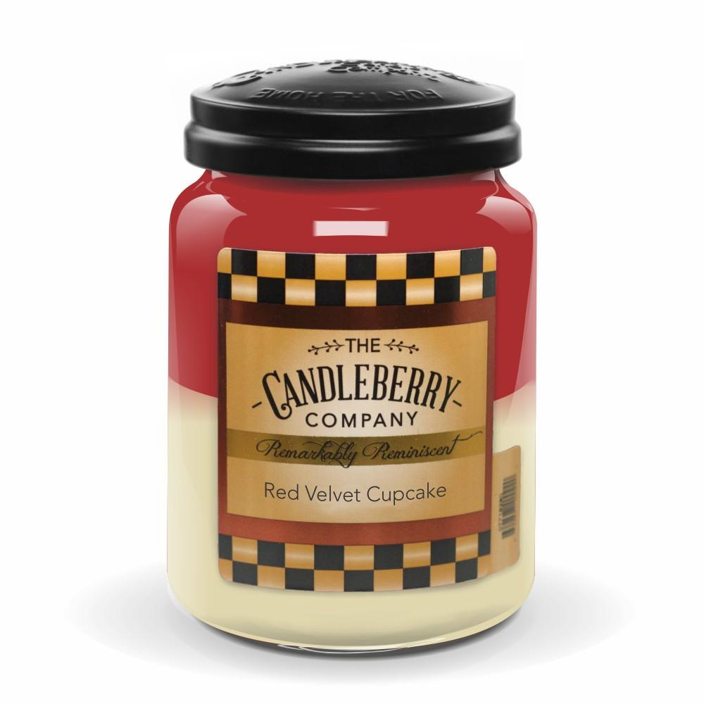 Red Velvet Cupcake™, 26 oz. Jar, Scented Candle 26 oz. Large Jar Candle The Candleberry Candle Company