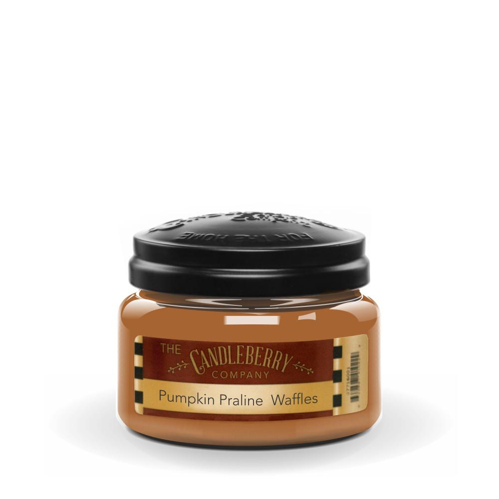 Pumpkin Praline Waffles™, 10 oz. Jar, Scented Candle 10 oz. Small Jar Candle The Candleberry Candle Company