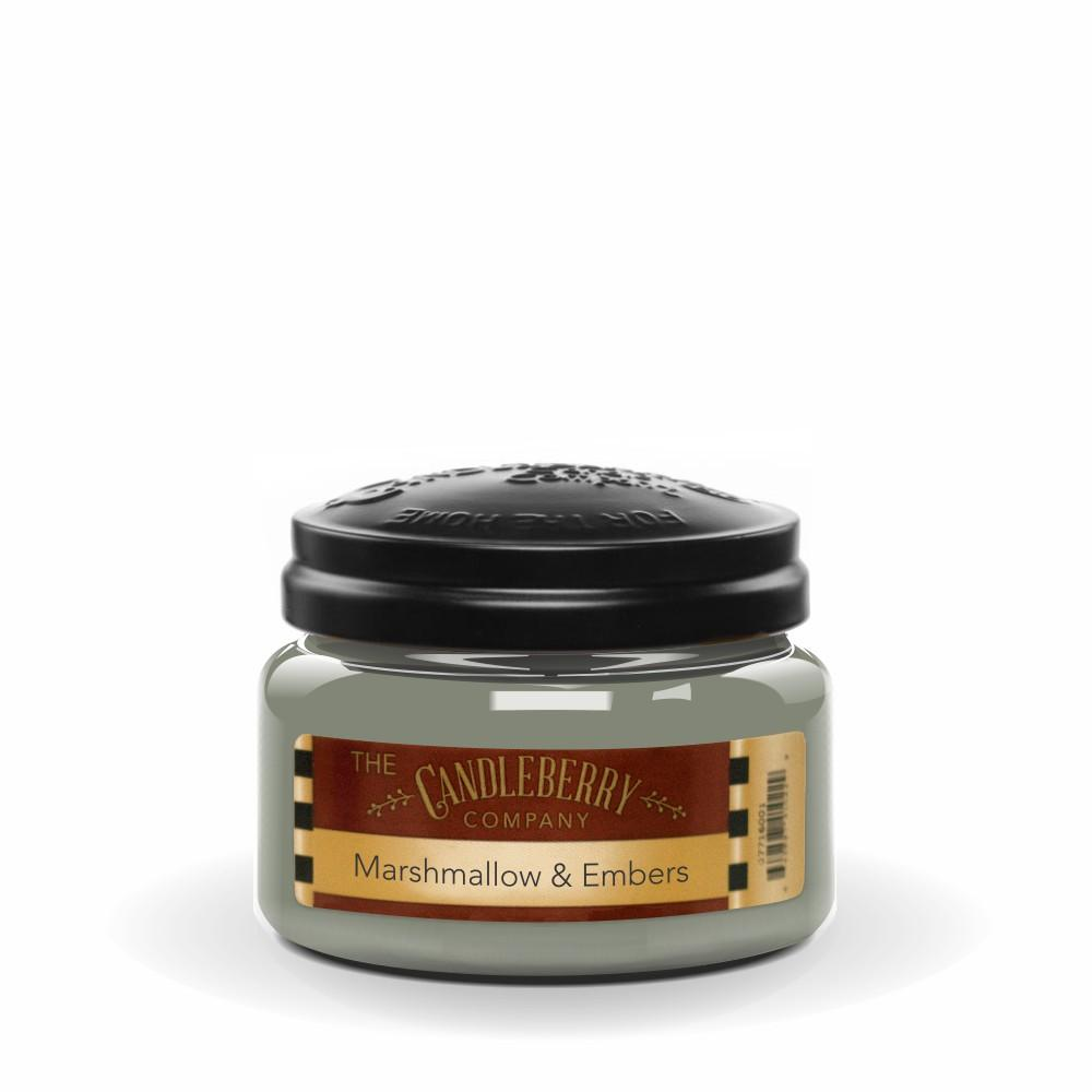Marshmallow & Embers™, 10 oz. Jar, Scented Candle 10 oz. Small Jar Candle The Candleberry Candle Company