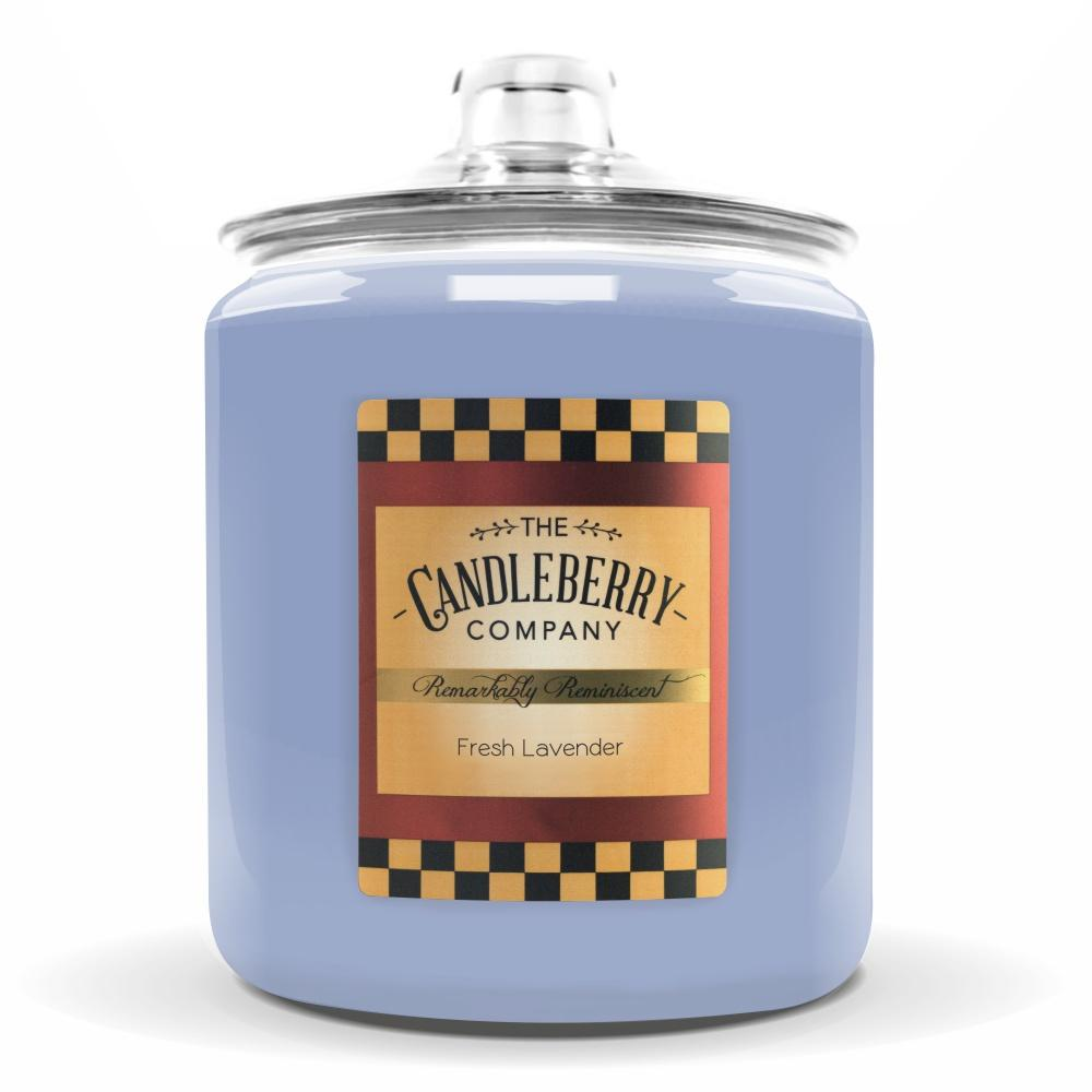 Fresh Lavender™, 160 oz. Jar, Scented Candle 160 oz. Cookie Jar Candle The Candleberry Candle Company