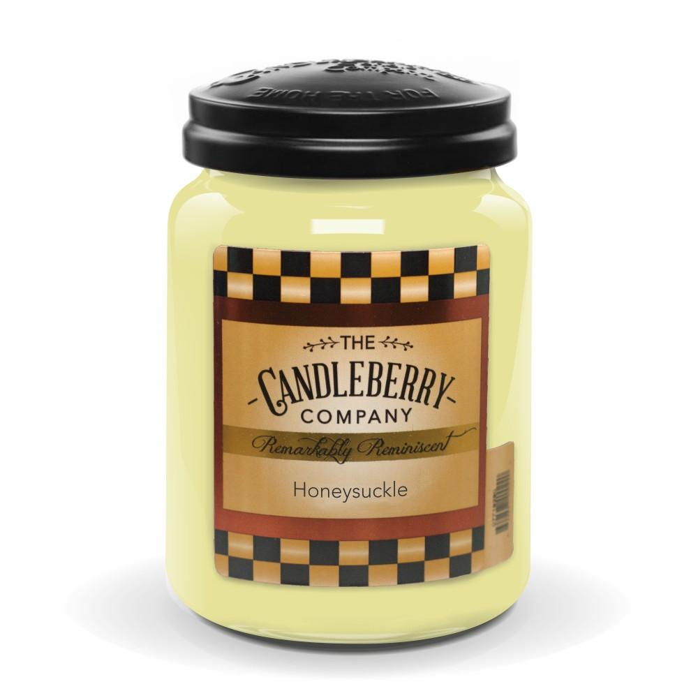 Honeysuckle™, 26 oz. Jar, Scented Candle 26 oz. Large Jar Candle The Candleberry Candle Company